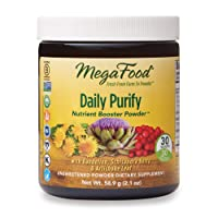 MegaFood, Daily Purify Booster Powder, Gentle Elimination and Detoxification Support...