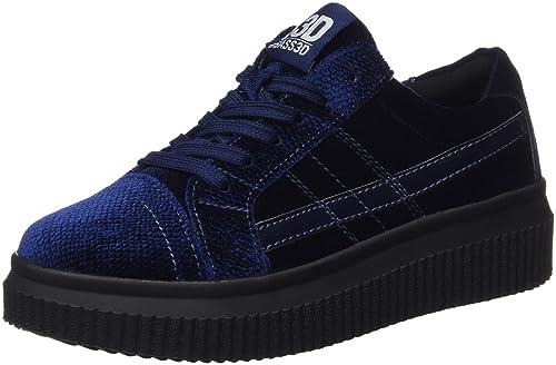 041379, Zapatillas para Mujer, Rojo (Burdeos), 37 EU BASS3D