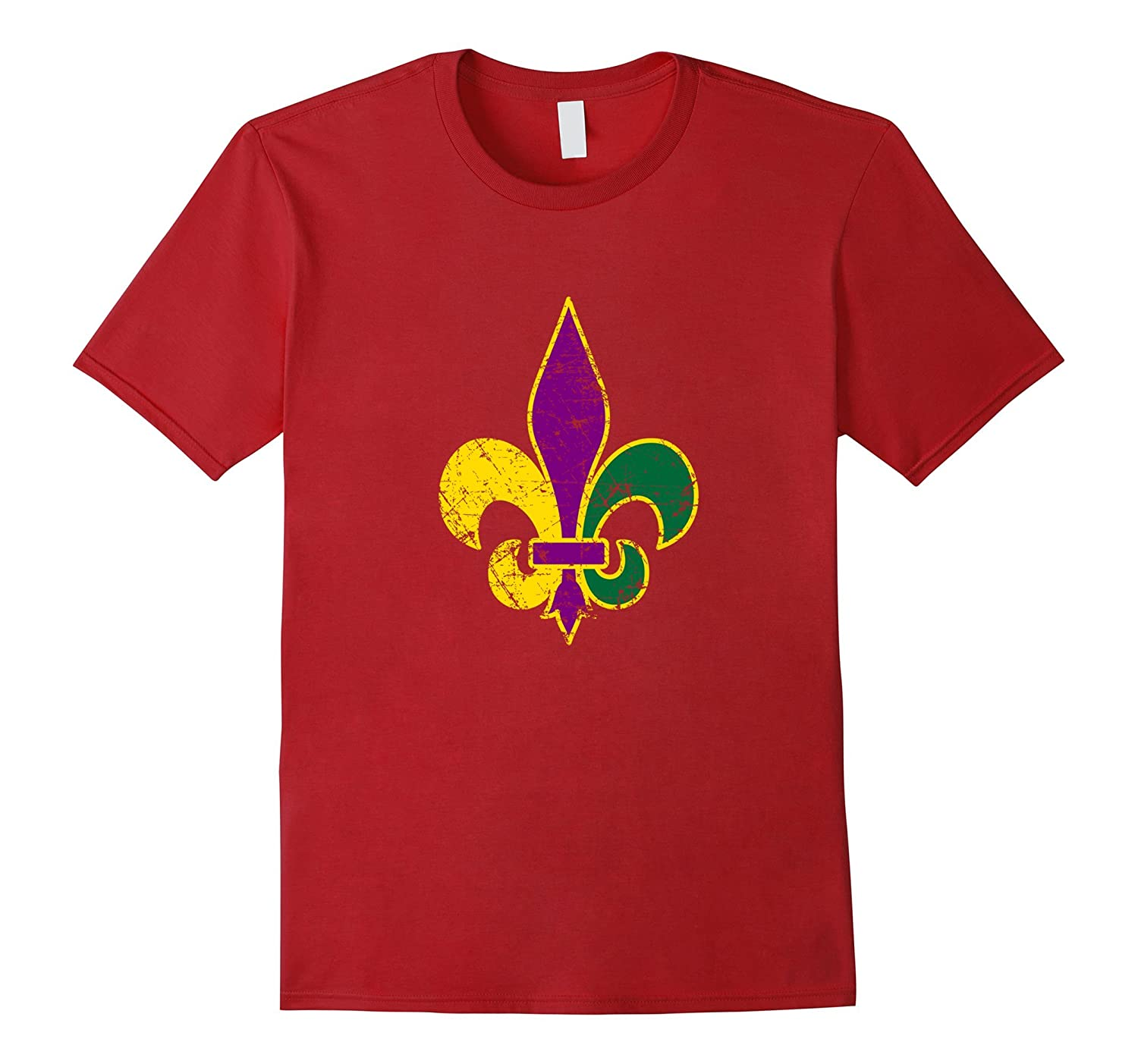 Mardi Gras Shirt Funny Cute Simple Celebration Party Gift-TD