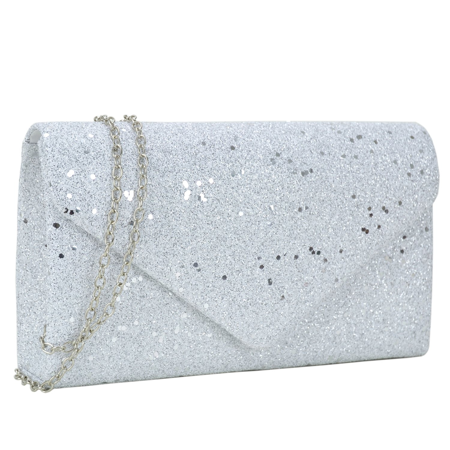 Women Glistening Evening Clutch Bags Formal Party Clutches Wedding Purses Cocktail Prom Clutches