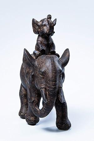 Amazon.de: Kare Design Deko Figur Elefant Dumbo Uno, Afrika Deko im ...
