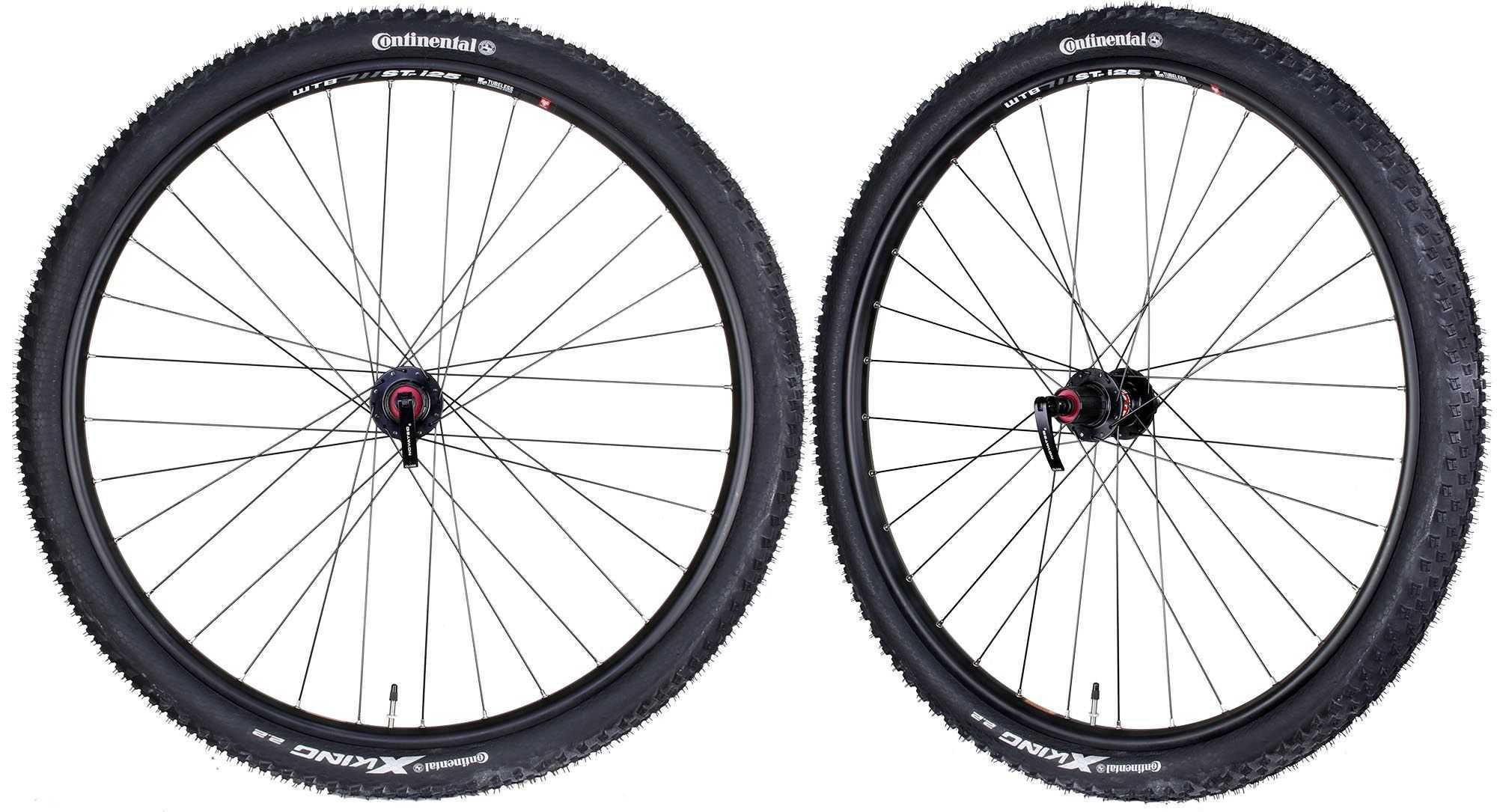WTB STP i25 Tubeless Ready Mountain Bike Bicycle Novatec Hubs & Tires Wheelset 11s 29""