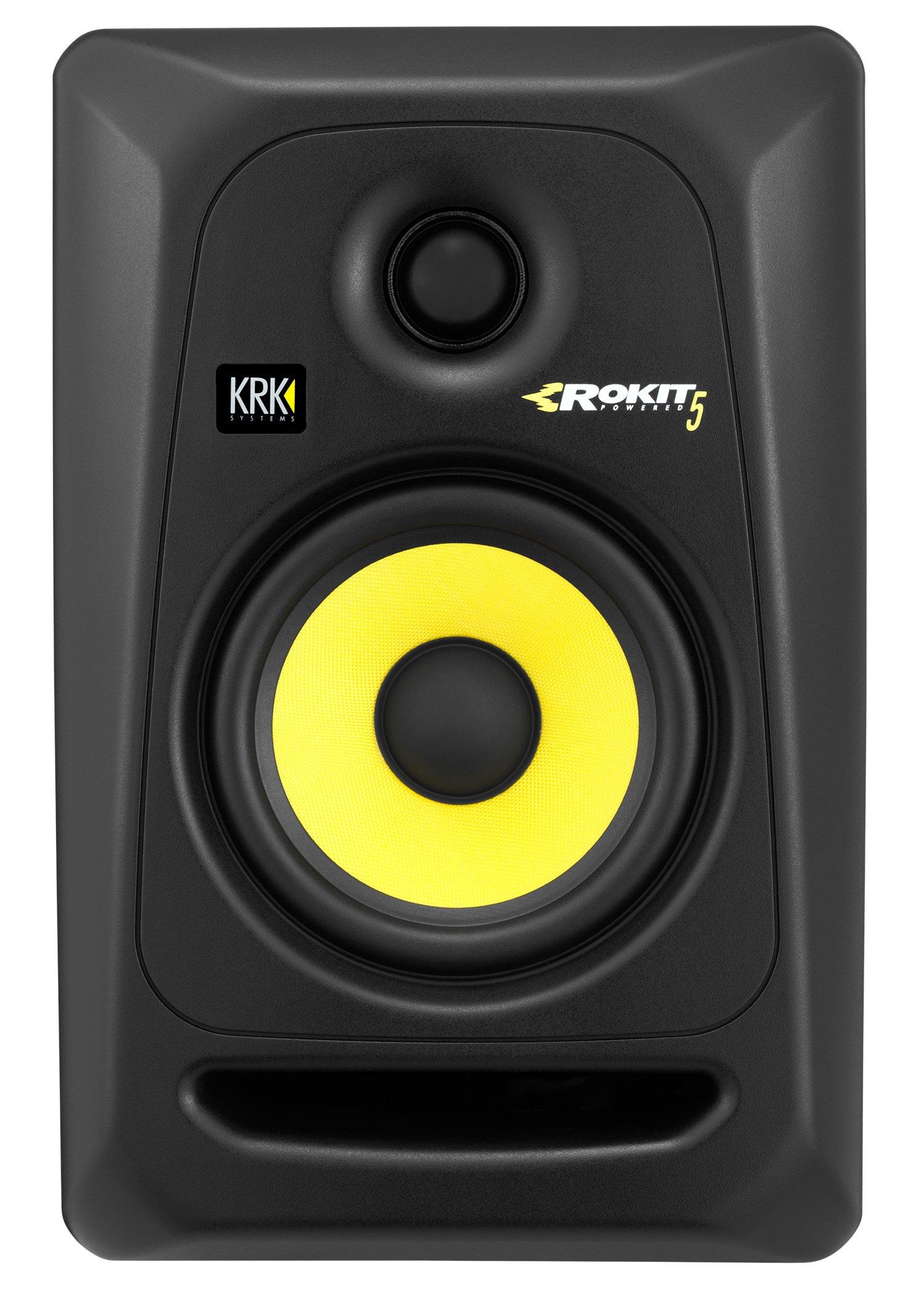 KRK RP5G3-NA Rokit 5 Generation 3 Powered Studio Monitor