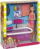 Barbie Doll With Bath Tub - Multi Color