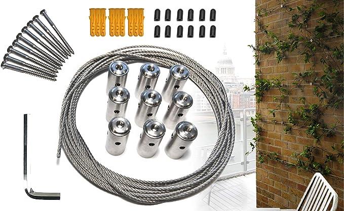 Viribus Sistema de Enrejado de Cable para Plantas trepadoras ...