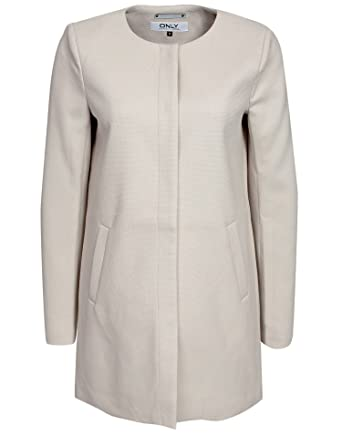 68 Large Printemps Only Polyester Sidney 28 Manteau Taille Stone Femme SwORw0q