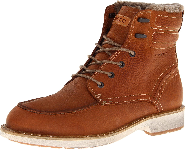 383401a159 Amazon.com | ECCO Men's Bendix Moc Toe Boot | Chukka