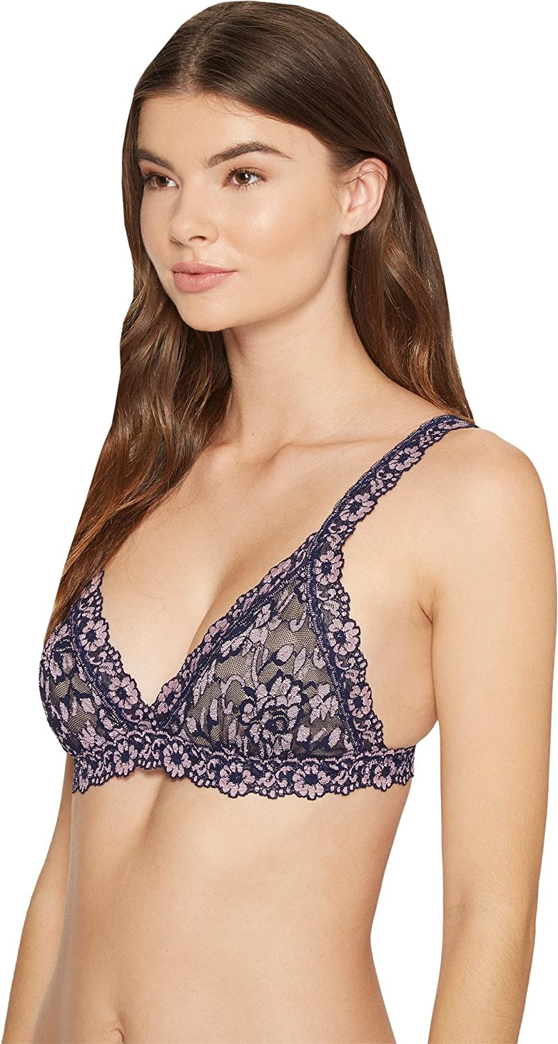 4f2457c778 Hanky Panky Womens Cross-Dyed Signature Lace Padded Bralette at Amazon  Women s Clothing store