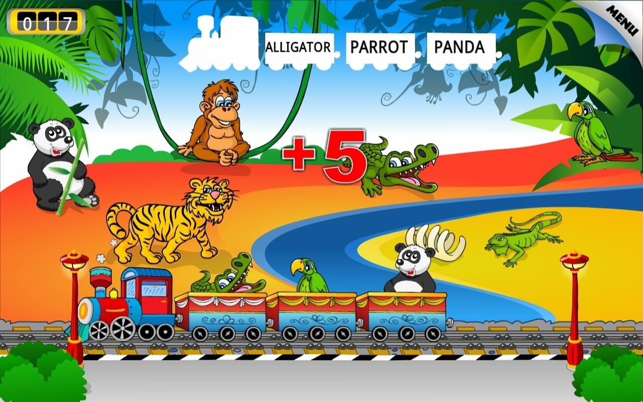 Amazon.com: Kids Animal Train: Preschool and Kindegarten