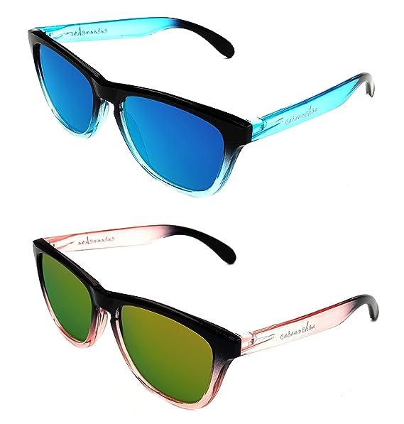 ab9af0ead9d24 Pack 2x1 Gafas de Sol Hombre Mujer UV400 Categoría 3 - Moda Sport y Fashion  -