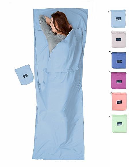 Cómodo cabaña Saco de dormir de algodón de bushcamp, adecuado para albergues y cabañas o