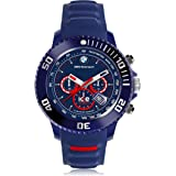 Ice-Watch - BMW Motorsport (sili) Blue Red - Reloj blu para Hombre con Correa de silicona - Chrono - 001132 (Large)