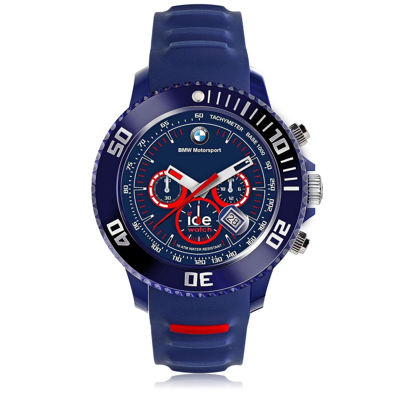 Ice-Watch - BMW Motorsport (sili) Blue Red - Reloj blu para Hombre con Correa de silicona - Chrono - 001132 (Large)