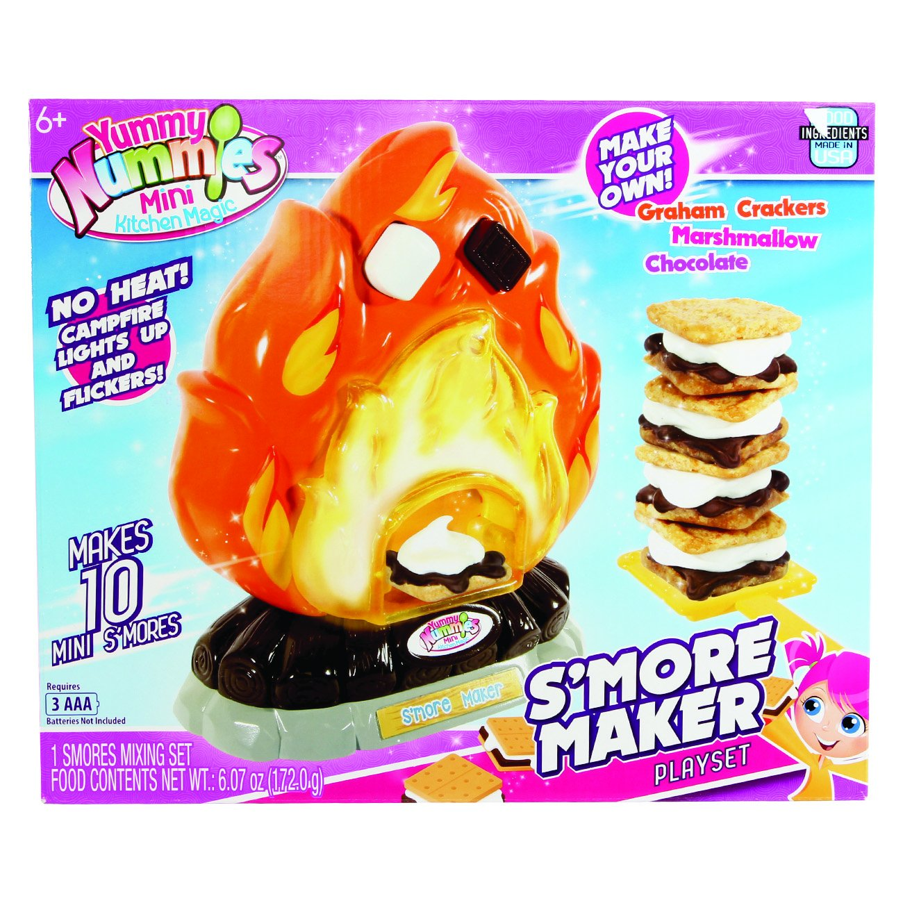 Yummy Nummy Mini Kitchen Playset S'Mores Maker by Yummy Nummy (Image #3)