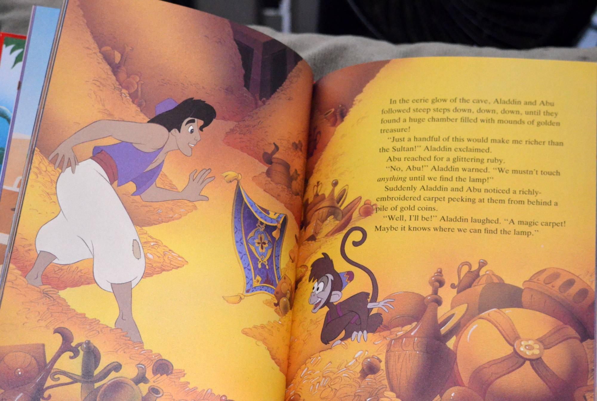 Disneys Aladdin Disney Classic Series Edition First Amazonco Story Books Of Aladin Don Ferguson 9781854699466