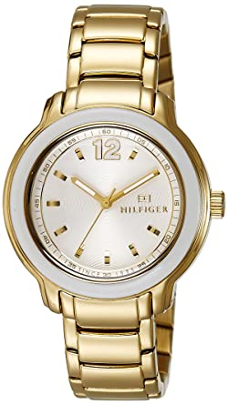 Tommy Hilfiger Analog White Dial Women's Watch - TH1781421J