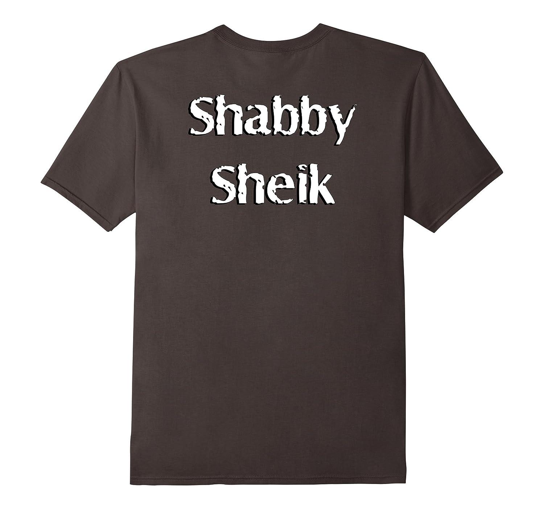 Shabby Sheik Funny Pun Gag Novelty Tshirt Gift-Teevkd
