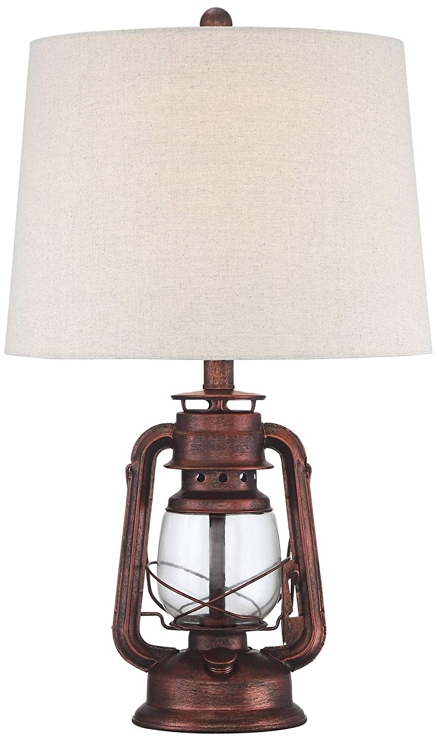 Amazon.com: Murphy Rustic Industrial Accent Table Lamp Miner ...
