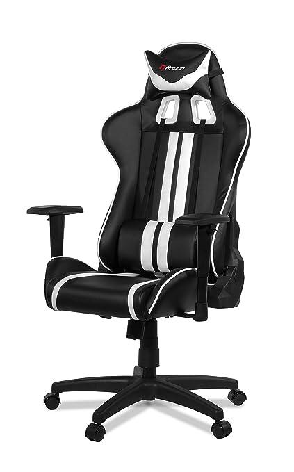 Strange Amazon Com Arozzi Mezzo Advanced Gaming Chair White Inzonedesignstudio Interior Chair Design Inzonedesignstudiocom