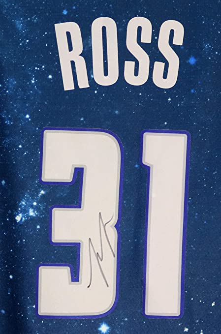 cheap for discount 655ec 1a8db Terrance Ross Orlando Magic Signed Autographed Blue City ...
