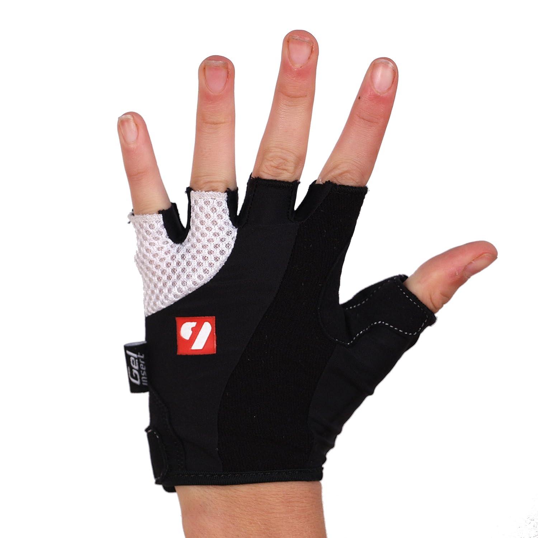 BG-02 Fingerless bike gloves, black barnett