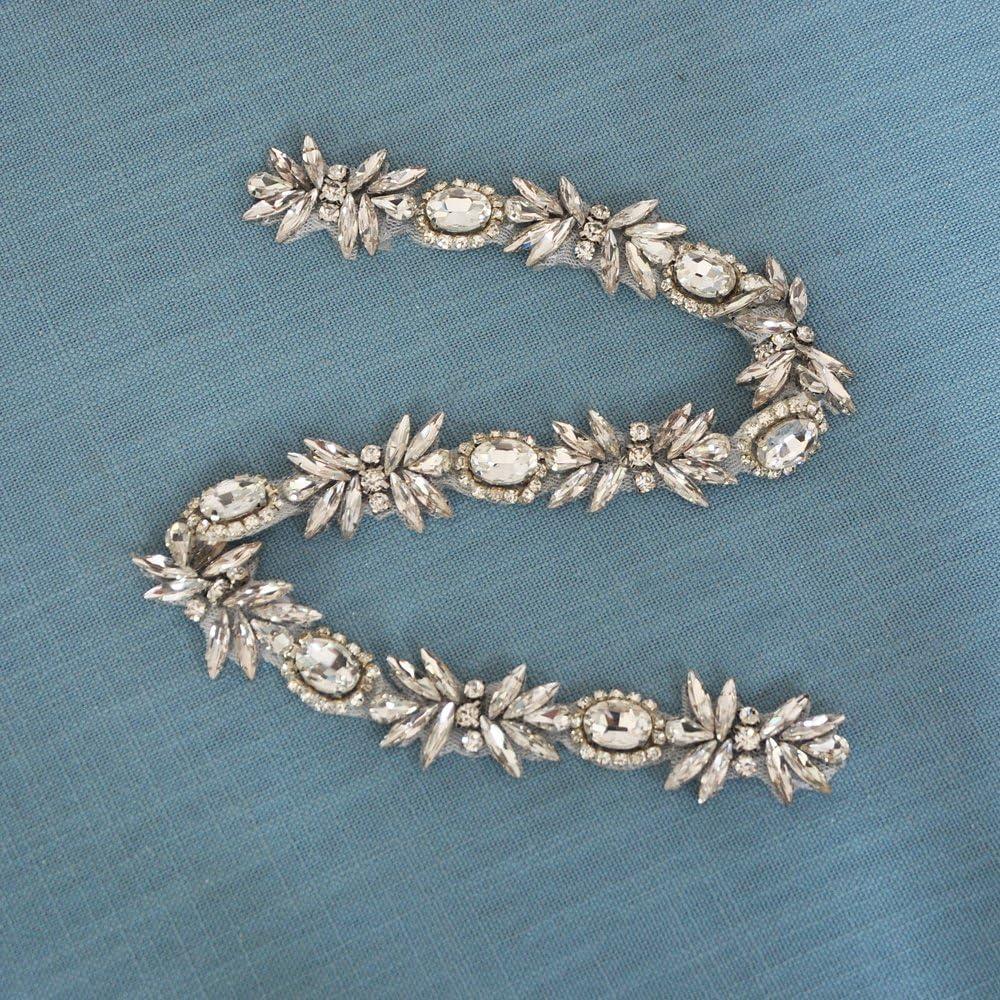 Azaleas Womens Crystal Wedding Belt Sashes Bridal Sash Belt for Wedding