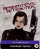 Resident Evil Retribution 3D Steelbook Blu-ray Region Free