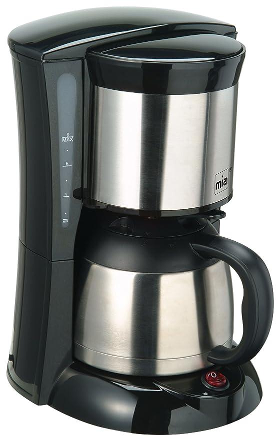 Mia kf1706 Cafetera con jarra térmica de acero inoxidable, color ...