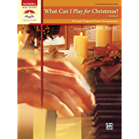 What Can I Play for Christmas?, Book 2: 10 Easily Prepared Late Intermediate Piano Arrangements (Sacred Performer… book cover