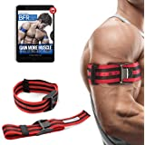 """Occlusion Training Bands by BFR Bands PRO X Model, 2 Pack, Blood Flow Restriction Bands with Research-Backed 2"""" Width - Pull to Tighten + Quick-Release + Pinch Free Buckle, Multiple Patents Pending"""