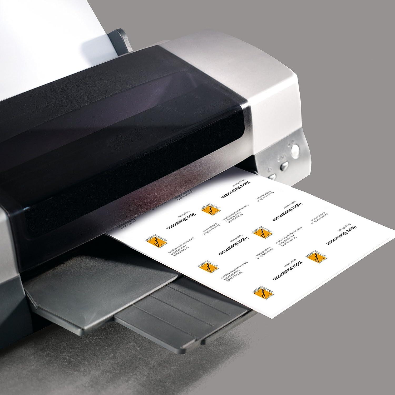 Sigel DP839 Visitenkarten hochweiß 150 Stück 15 Blatt 85x55 mm