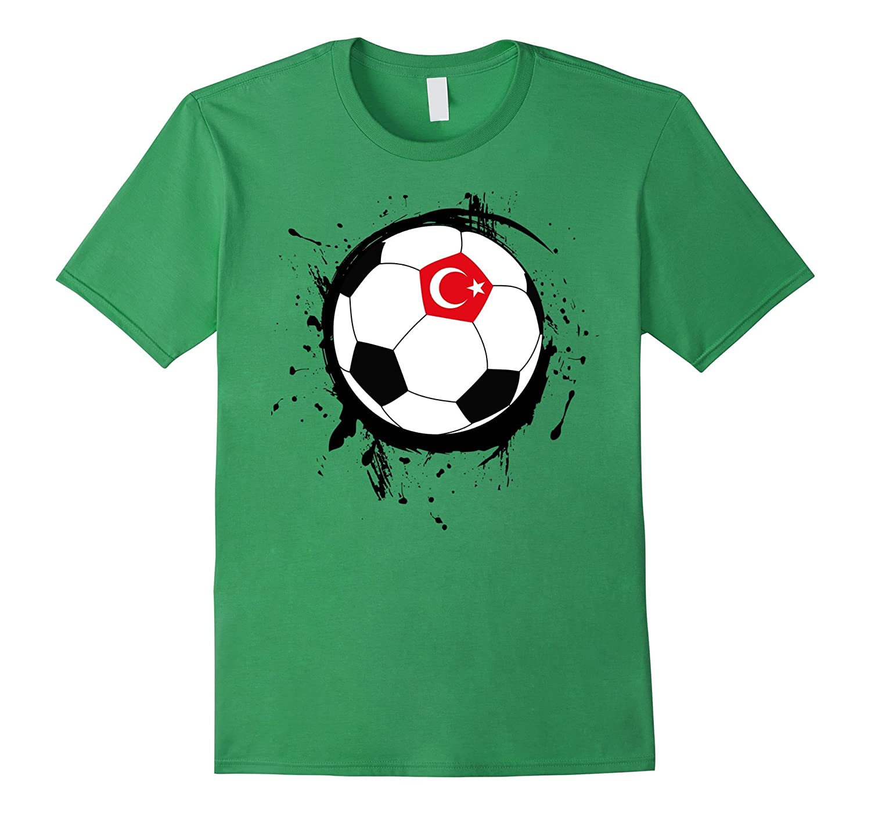 Turkey Turkish Turk Soccer Football Flag Jersey T-Shirt-Art