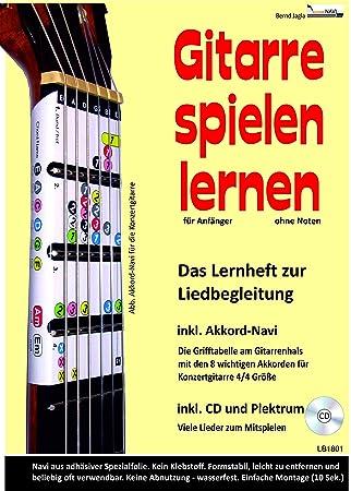 Aprender a tocar la guitarra? El cuaderno de aprendizaje para el ...