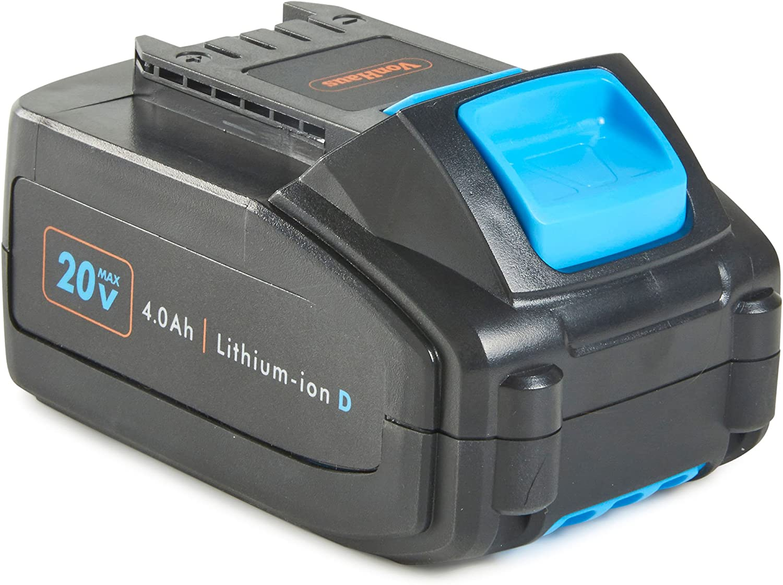 VonHaus 4,0Ah Batería de Repuesto Reemplazo - Compatible con Todas las Herramientas de la Serie D de Ion de Litio VonHaus 20 V