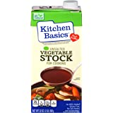 Kitchen Basics Unsalted Vegetable Stock, 32 Ounce (Pack of 12)