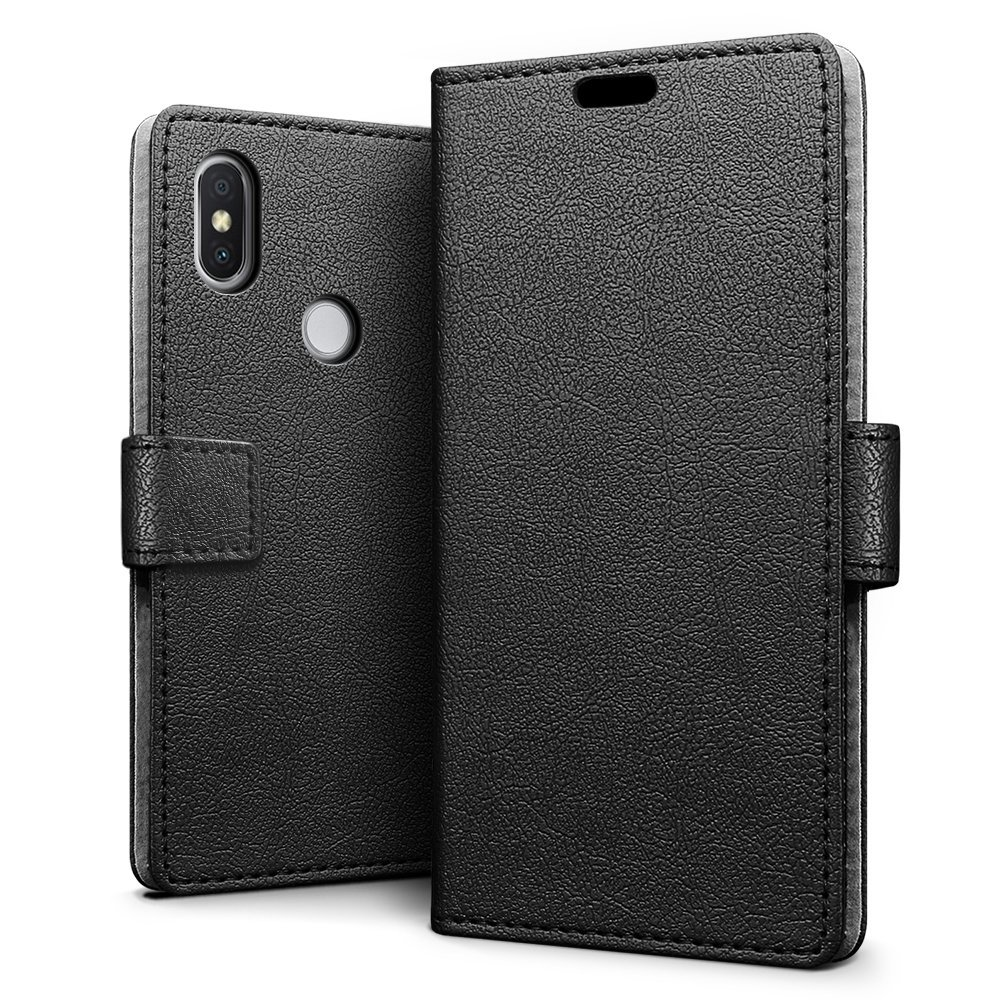 Amazon.com: Xiaomi Redmi S2 Case - SLEO Luxury Slim PU ...