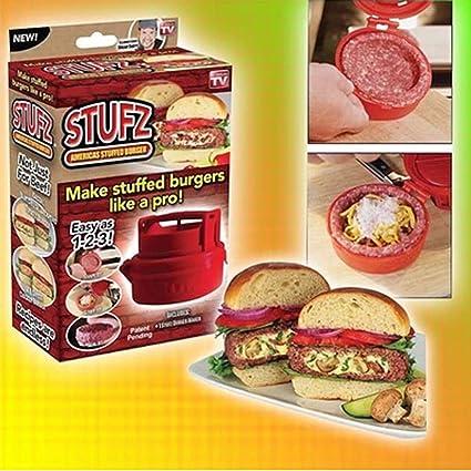 tinxi® Stufz Hamburguesa Hamburguesa de Prensa Prensa Prensa Hamburguesa Hamburguesa Hamburguesa forma Hacedor