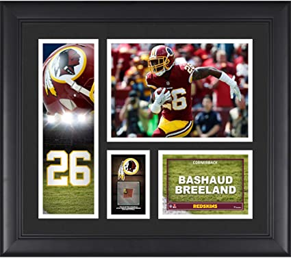 Amazon.com  Bashaud Breeland Washington Redskins Framed 15