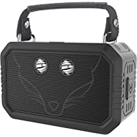 DOSS Traveler Wireless Portable Bluetooth Speakers with Waterproof IPX6, 20W Stereo Sound and Bold Bass, 12H Playtime, Durable for Phone,TV, Tablet, Gift Ideas - Black