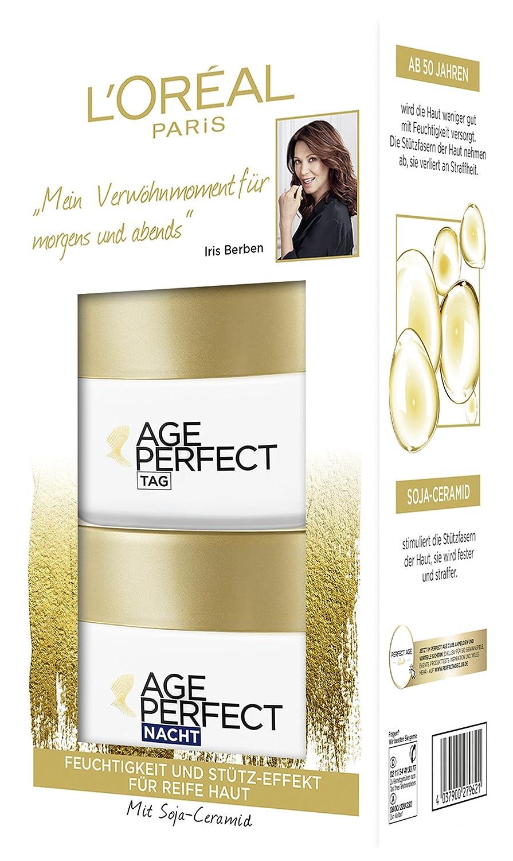 L'Oreal Paris Age Perfect Tag und Nacht Gesichtspflege-Set L' Oréal Paris Z03798