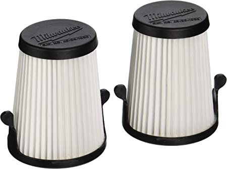 2 Pack Replacement Filters 3 In Works with M12 0850-20 Compact Vacuum