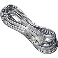 Monoprice 100943RJ12 6P6C Reverse Landline Telephone Cable, 25-Feet for Voice