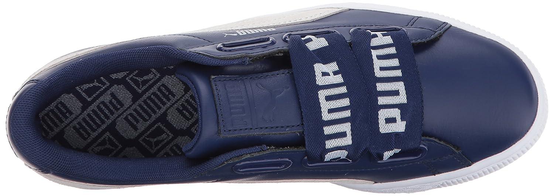 Puma - Damen Korb Heart De Schuhes Blau Depths/Puma Weiß Weiß Depths/Puma e353c2