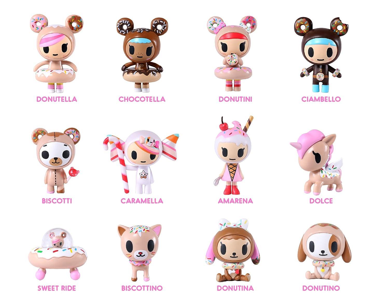 amazon com tokidoki donutella u0026 her sweet friends blind box