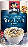 Quaker Oats Steel Cut Oatmeal, Breakfast Cereal, 30 Ounce