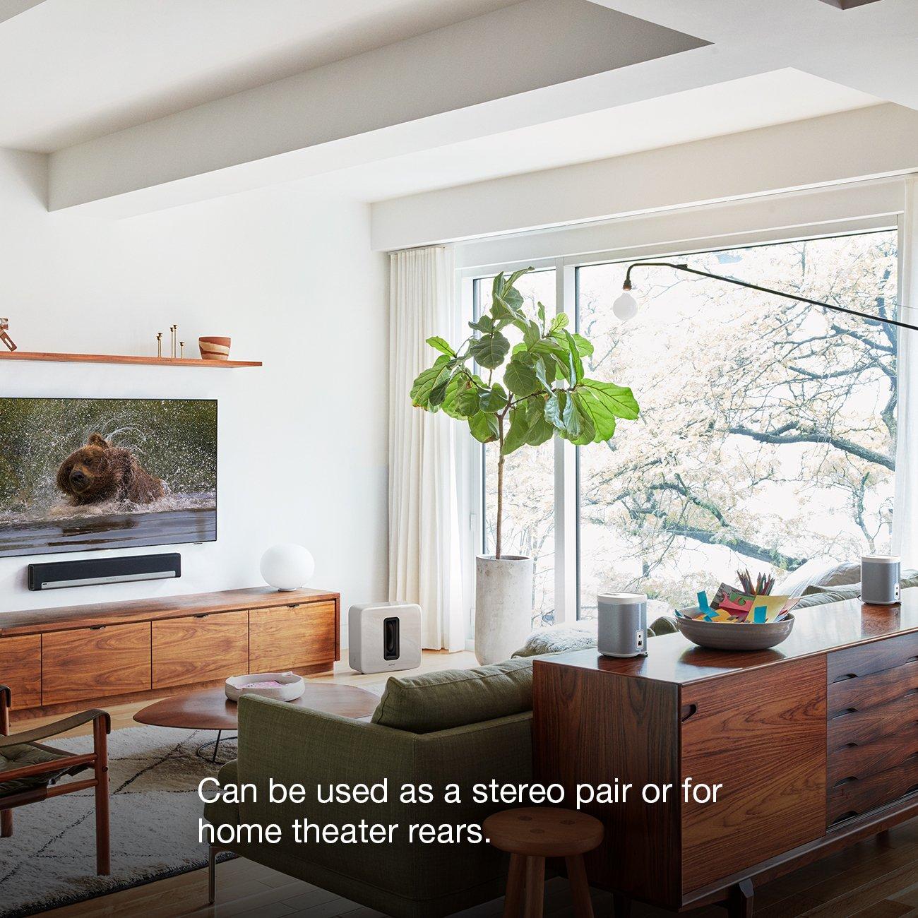 Amazon.com: Sonos PLAY:1 2-Room Wireless Smart Speakers for ...