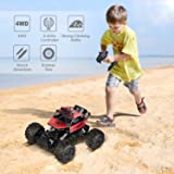 INTEY RC Cars Amphibious Remote Control Car 1:12 4WD Off Road Remote Control Trucks Comes with Batteries Included and USB Charger