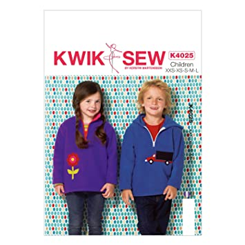 Amazon Kwik Sew Patterns K4025osz K4025 Boysgirls Tops