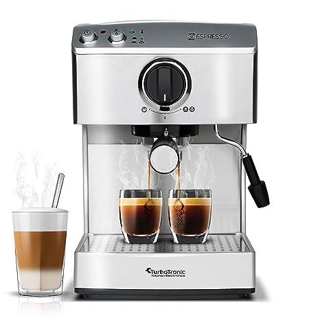 Amazonde 15 Bar Siebträgermaschine Für Kaffee Espresso