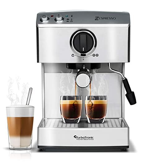 15 bar portafiltros Máquina para café & Café expreso, espumador de ...